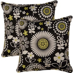 Gemma Domino 17-inch Throw Pillows (Set of 2)