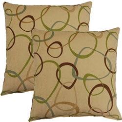 Laboca Spa 17-inch Throw Pillows (Set of 2)