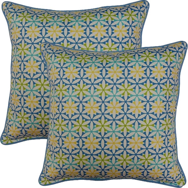 View Finder Bluebell 17-inch Throw Pillows (Set of 2). Opens flyout.