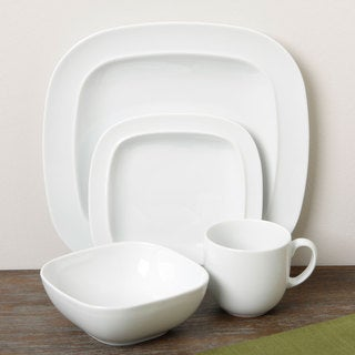 Denby \u0027Square\u0027 16-piece White Dinnerware Set & Top Product Reviews for Denby \u0027Square\u0027 16-piece White Dinnerware Set ...