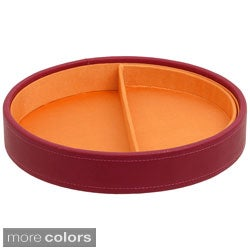 WOLF Round Stackable Half-moon Insert Tray