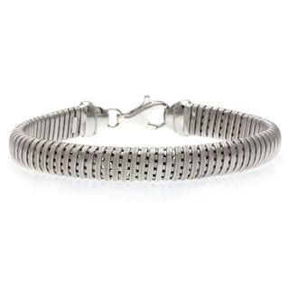 La Preciosa Sterling Silver Mesh Bracelet