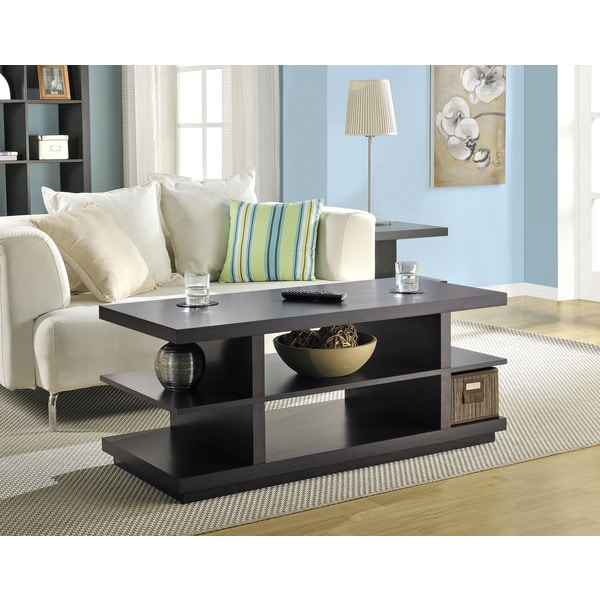 Altra Hollow Core Coffee Table/TV Stand