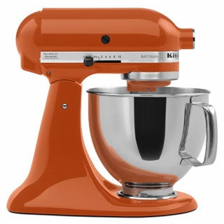 Shop Kitchenaid Rrk150pn Persimmon 5 Quart Artisan Tilt