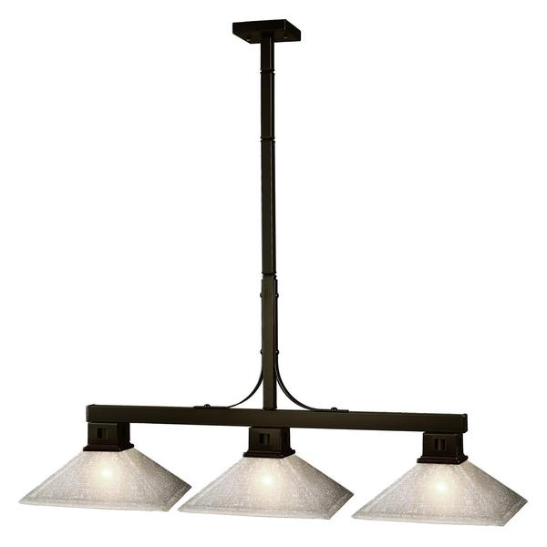 Flatwater 3-light Billiard Light Fixture