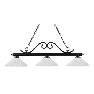 Windsor 3-light Billiard Light Fixture