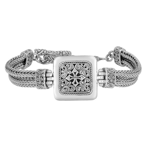 Sterling Silver 'Cawi' Handcrafted Bracelet (Indonesia)