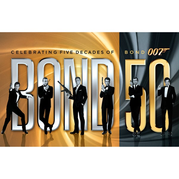James Bond 50: Celebrating Five Decades of Bond with Skyfall (Blu-ray Disc)