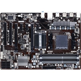 Gigabyte GA-970A-DS3P Desktop Motherboard - AMD Chipset - Socket AM3+