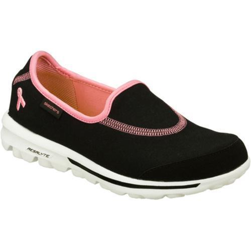 Women's Skechers GOwalk The Cure Black/Pink