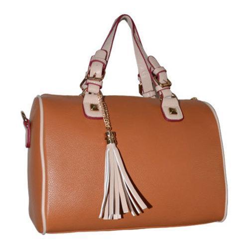 Women's Blingalicious Leatherette Handbag Q2023 Camel