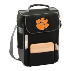 Picnic Time Duet Clemson University Tigers Print Black/Grey