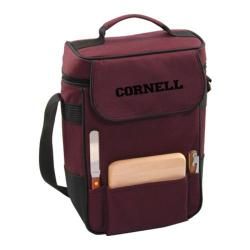 Picnic Time Duet Cornell University Bears Embroidered Burgundy