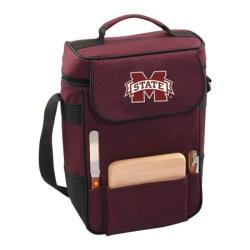 Picnic Time Duet Mississippi State Bulldogs Embroidered Burgundy