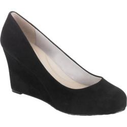 Women's Rockport Seven to 7 85mm Wedge Pump Black Suede - Free ...