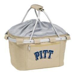 Picnic Time Metro Basket Pittsburgh Panthers Print Tan