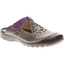 Women's Spring Step Sylph Gray Leather