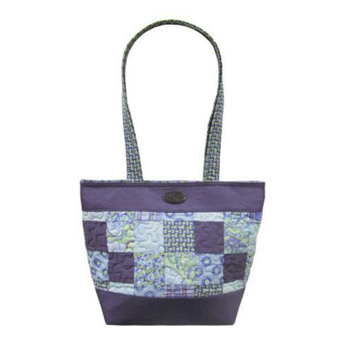 Women's Donna Sharp Medium Patched Tote Rio Patch