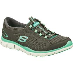 Women's Skechers Gratis Big Idea Charcoal/Green