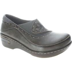Women's Spring Step Burbank Gray Leather
