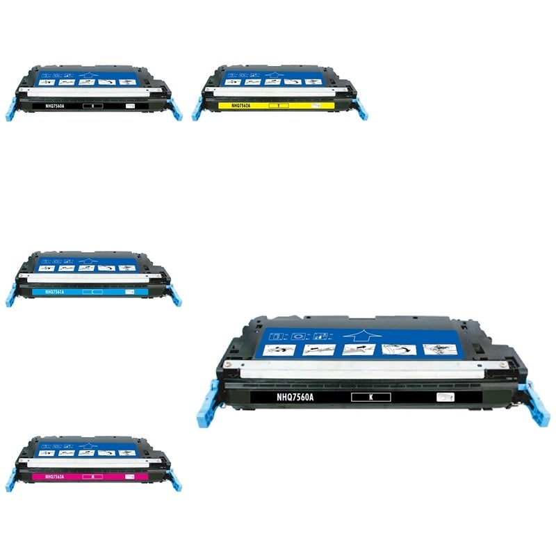 INSTEN 5-ink Cartridge Set for HP Q7560A