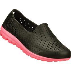 Girls' Skechers H2GO Waterlillys Black/Hot Pink
