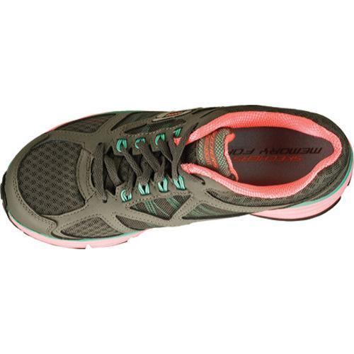 Women's Skechers Alignment Full Effect Charcoal/Hot Pink - Thumbnail 2