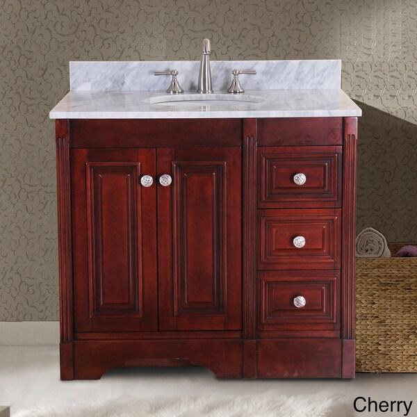 65 Inch Bathroom Vanity Single Sink: Shop Virtu USA Austen 37-inch Single Sink Bathroom Vanity