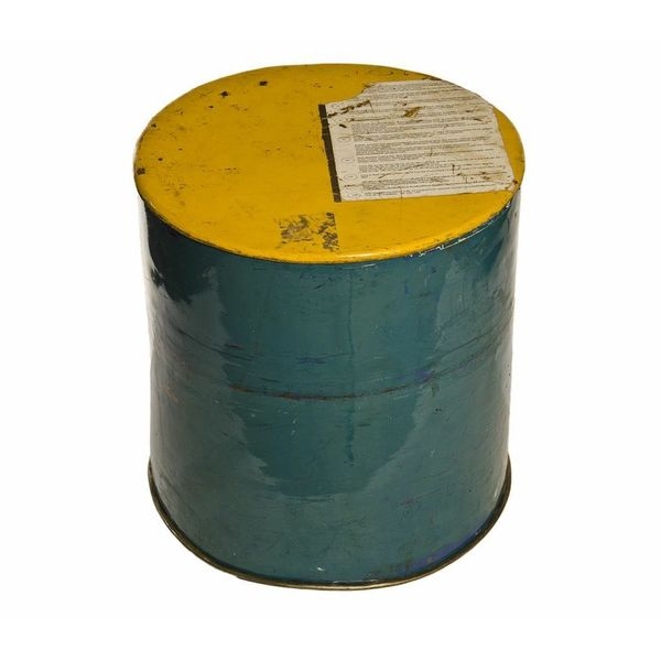 Shop Recycled Oil Drum Stool Side Table Free Shipping