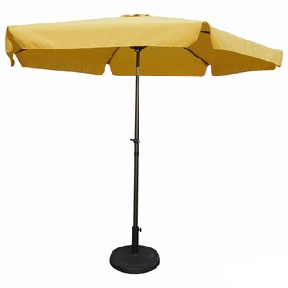 International Caravan St. Kitts 9 ft. Aluminum Patio Umbrella with Crank