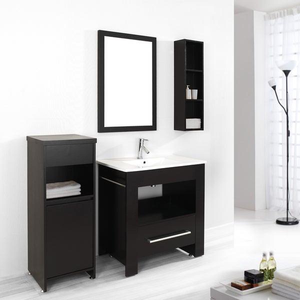 Shop virtu usa masselin 32 inch single sink bathroom - Bathroom vanities 32 inches wide ...