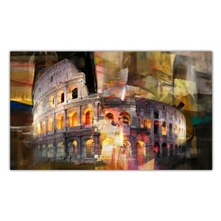Ready2HangArt 'Coliseum di Roma' Gallery-wrapped Canvas Art