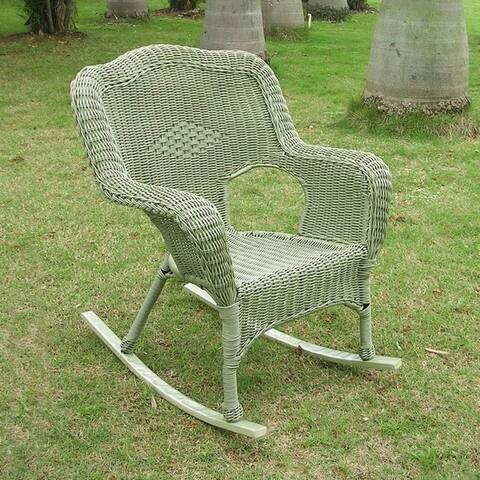 Buy Rocking Chairs Green Wicker Outdoor Sofas Chairs