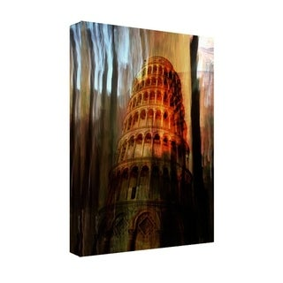 Ready2HangArt 'Tower of Pisa' Gallery-wrapped Canvas Art