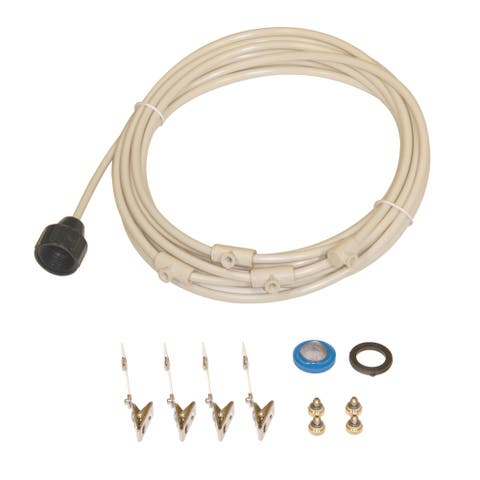 Do-it-Yourself 4-nozzle 0.25-inch Mist Cooling Kit