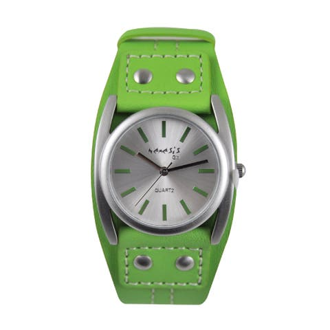 Nemesis Women's 'Casual Everyday' Leather Strap Watch