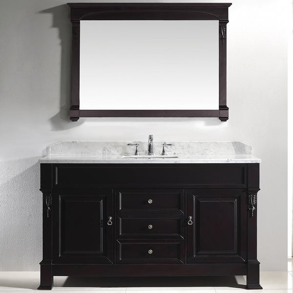 Shop Virtu Usa Huntshire 60 Inch Single Sink Bathroom Vanity Set Free Shipping Today
