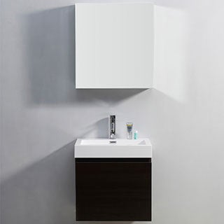 Virtu USA Zuri 24-inch Single-sink Bathroom Vanity Set