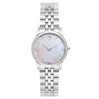 Movado Women's 606612 'Museum Classic' Diamond-accented watch