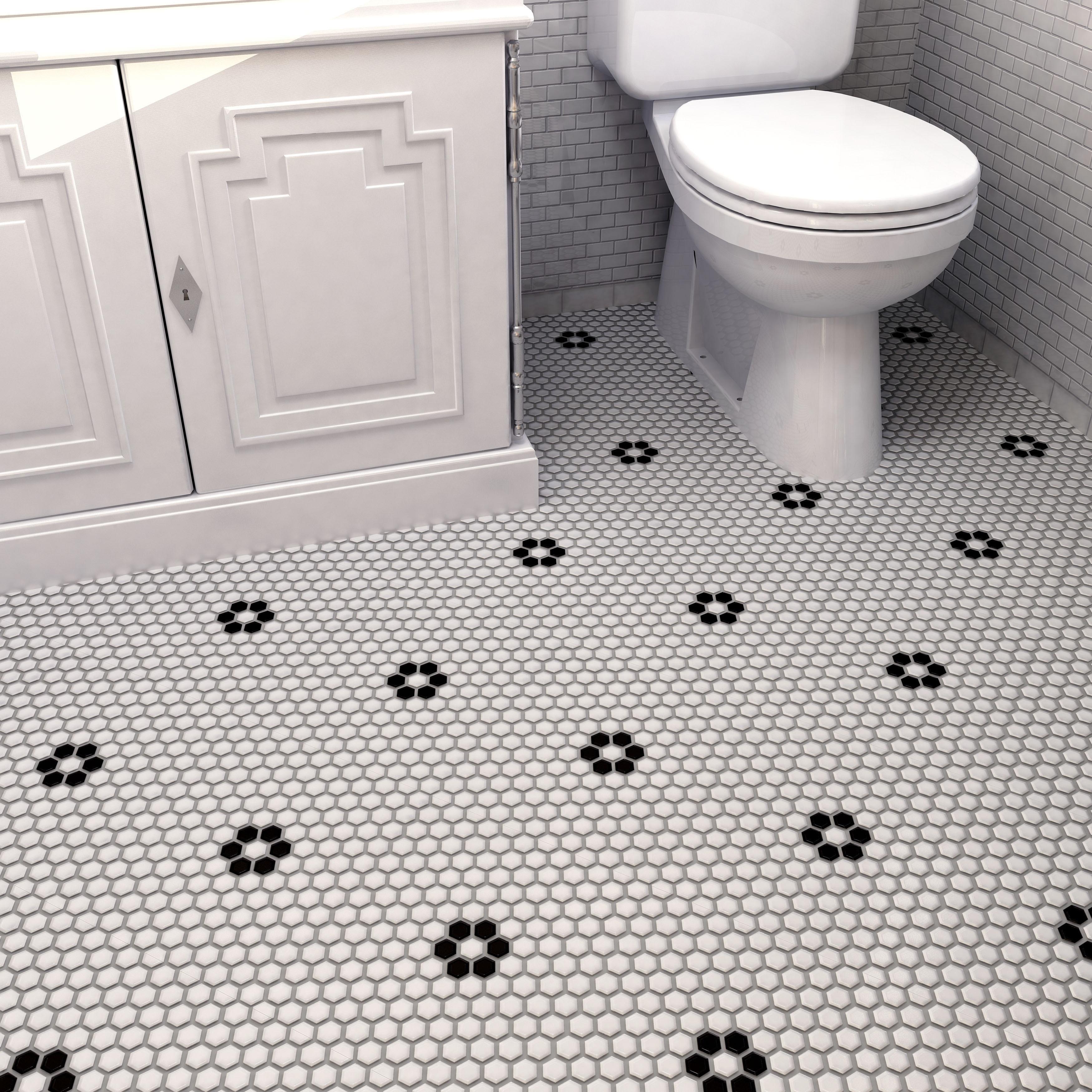 Buy Hexagon Floor Tiles line at Overstock