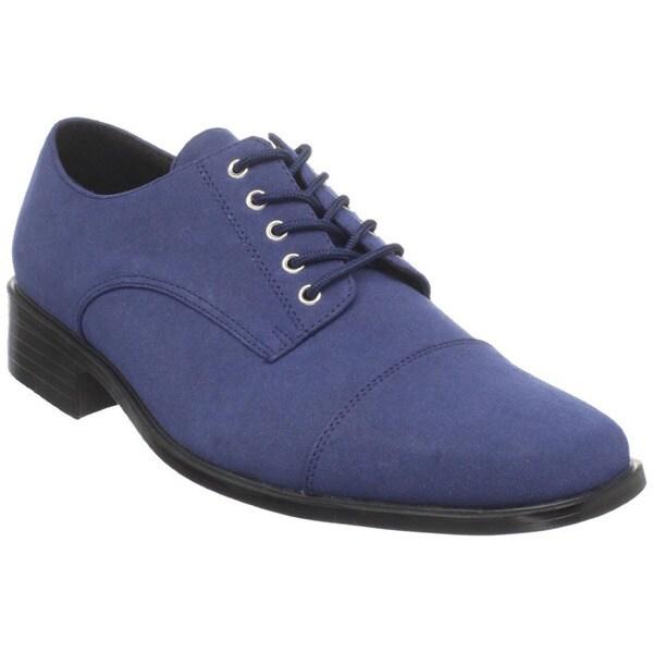 Funtasma Men's 'King-01' Blue Lace-up Oxford Shoes