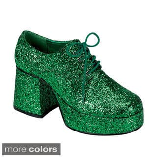 Funtasma Men's 'Jazz-02G' Platform Lace-up Disco Shoes|https://ak1.ostkcdn.com/images/products/8300671/P15618359.jpg?impolicy=medium