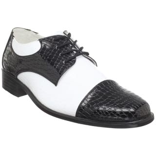 Funtasma Men's 'Disco-18' Two-tone Oxford Disco Shoes|https://ak1.ostkcdn.com/images/products/8300676/8300676/Funtasma-Mens-Disco-18-Two-tone-Oxford-Disco-Shoes-P15618363.jpg?impolicy=medium