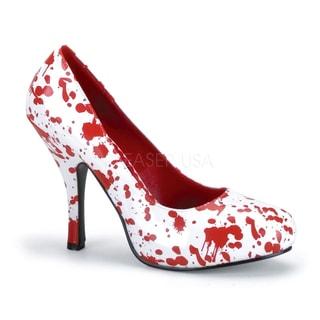Funtasma 'BLOODY-12' Women's Blood Splatter Zombie Pumps