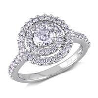 Miadora Signature Collection 14k White Gold 1ct TDW Diamond Ring