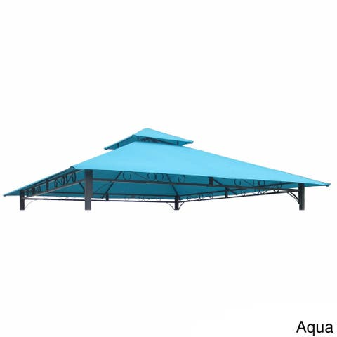 International Caravan St. Kitts 10-Foot Replacement Gazebo Canopy