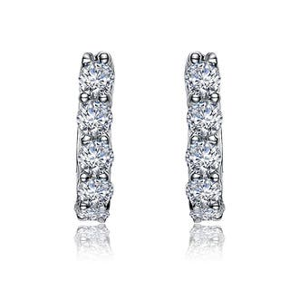 Collette Z Sterling Silver Cubic Zirconia Mini Hoop Earrings|https://ak1.ostkcdn.com/images/products/8300863/Collette-Z-Sterling-Silver-Cubic-Zirconia-Mini-Hoop-Earrings-P15618200.jpg?impolicy=medium