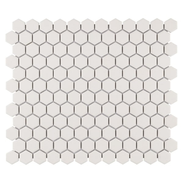 Shop Somertile 10 25x11 75 Inch Manhattan Hex Antique