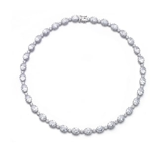 Collette Z Sterling Silver Cubic Zirconia Classic Necklace