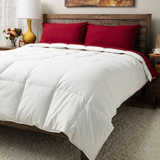 Elegance 720 Thread Count White Down Comforter